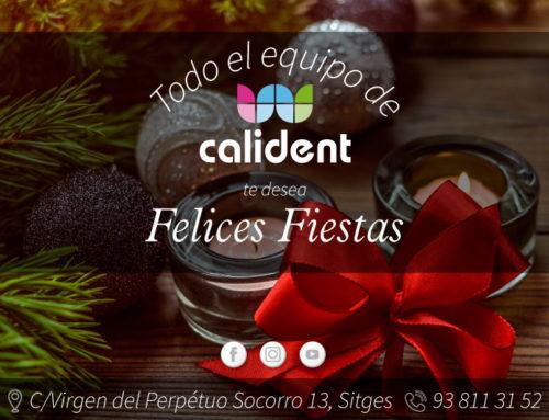 Todo el equipo de Calident te desea Felices Fiestas