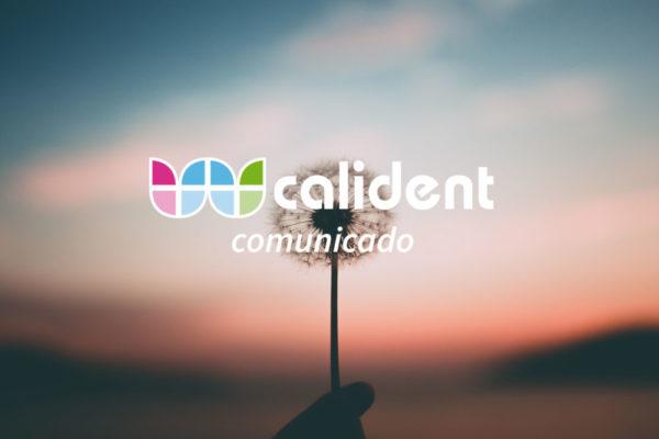 Comunicado Calident COVID19